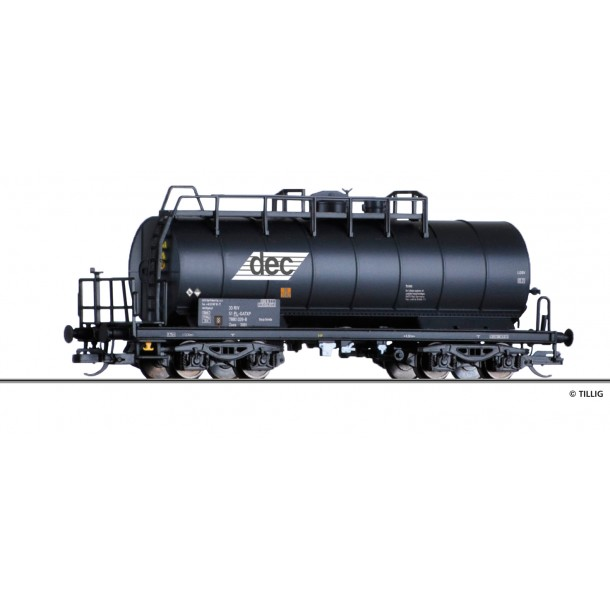 Tillig 17435 wagon cysterna Zaes  PKP Gatx-DEC 3351 788 0 029-8 ep. VI (TT)