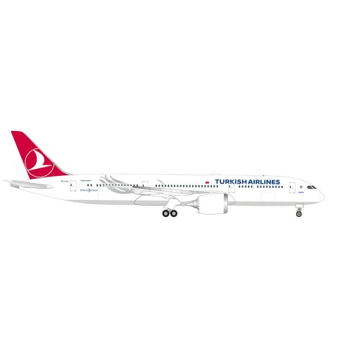 "Herpa 534055 samolot Turkish Airlines Boeing 787-9 Dreamliner ""Maçka"" TC-LLA (1:500)"