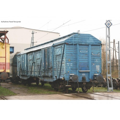 Piko 58375 zestaw 2  wagony zakryte  typ  401Ka Gags-t  PKP Cargo   ep.VI  (H0)