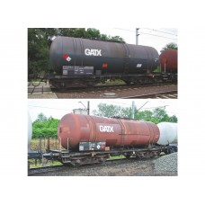 Piko 58384 zestaw 2  wagony cysterny  406Rb, GATX, PL-GATXP PKP   ep.VI  (H0)