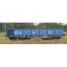 Piko 58385 zestaw 2  wagony niskoburtowe 401Zp   Eamos Stacja MEDYKA   PKP CARGO  ep.VI (H0)