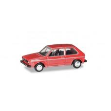 H066617 auto W Golf I czerwony   (TT)