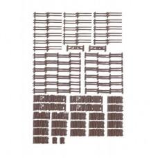 N13095 ogrodzenia zagrodowe różne, 2900mm (H0)