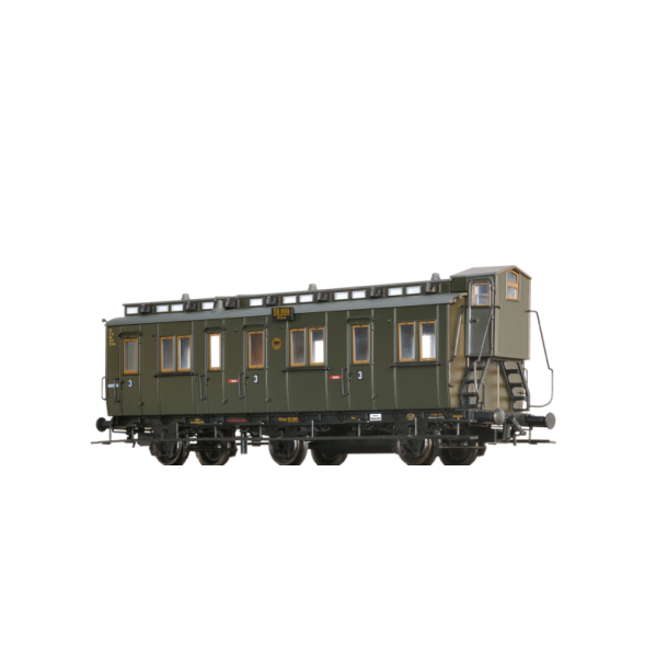 Brawa 45487 wagon osobowy 3kl. Altona 59 899 DRG  ep.II (H0)