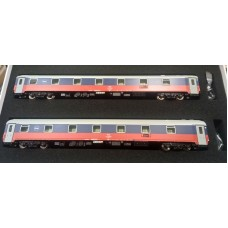 LS48012 zestaw 2 wagony sypialne  RZD wersja 1998 r.  ep.V (H0)