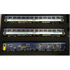 LS48151 zestaw 2 wagonty kuszetki i 1 wagon sypialny  CD  ep.VI (H0)