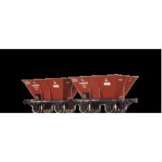 br48802 zestaw 2  wagony weglarki KPEV Saarbrucken 57811/57872   ep.I (H0)