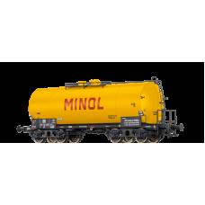 br48942  wagon cysterna ZZ DR 51-72-23P  MINOL   ep.III (H0)