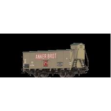 br49056  wagon towarowy zakryty  Anker brot   OBB 163 595  ep.III (H0)