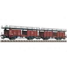FL522401 zestaw 2 wagony platformy  Laaes541    DB  ep.IV (H0)