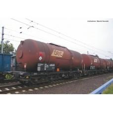 p58361 zestaw 3  wagony cysterny 406R Zaes  PKP DEC   ep.VI  (H0)