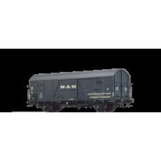 br48718 wagon towarowy Gltrhs  23 DB 195 058 MAN  ep.III (H0)