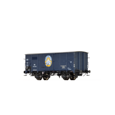 br49074  wagon zakryty G10 DB 525 330 P  Fritz Homann  ep.III (H0)