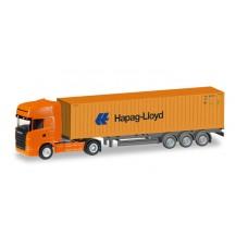 "H066594 auto   Scania R TL Container-Sattelzug ""Hapag Lloyd"" (TT)"