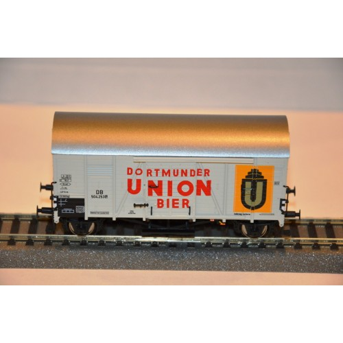 Exact Train 20119 wagon towarowy zakryty Dortmunder Union Bier  DB 504 253P  ep.III (H0)