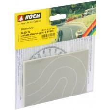 N34204 ulica beton łuk 2szt szerokość 40mm (N)