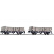 rc76114 zestaw 2  wagony weglarki CFL typ  Villach  ep.III (H0)