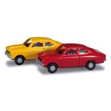 H065979 set 2 auta  Opel Kadett B Coupé  (N)