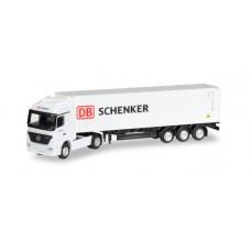 """H066686  auto Mercedes-Benz Actros LH Container-Sattelzug """"DB Schenker"""" (TT)"""