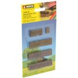 N13060 ogrodzenie drewniane  24 szt / 910 mm (H0)