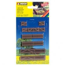 N13070 ogrodzenie drewniane  22 szt / 910 mm (H0)
