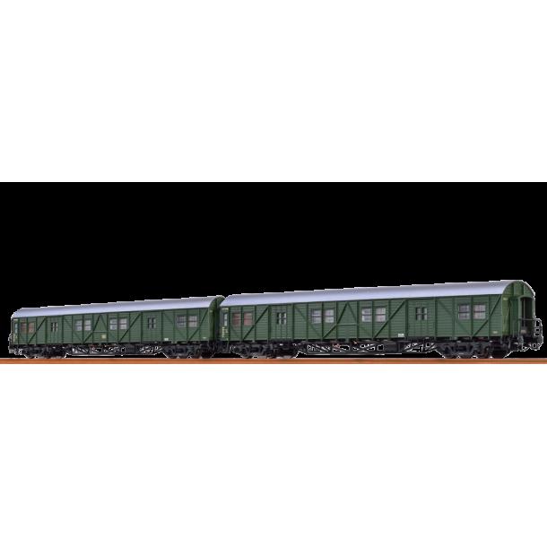 Brawa 46252 zestaw 2 wagony bagazowe MPw4ie DB 113 725 / 113 967 Hmb (H0)
