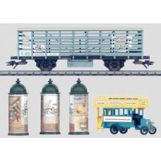 m46829 wagon do przewozu zwierzat  KPEV , słupy, omnibus  ep.I (H0)