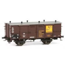 br48657 wagon  Gh03 do przewozu mleka  101 543 DB Ritter Sport  ep.III (H0)