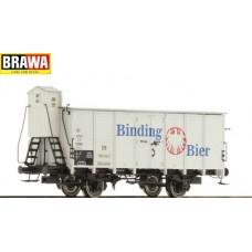 br49040  wagon zakryty G10 DB 550 618 Binding Bier  ep.III (H0)