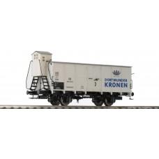 br49041  wagon zakryty G10 DB 502 563 Dortmunder Kronen ep.III (H0)
