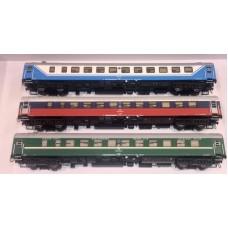 AC55149 zestaw 3  wagony sypialne WLABm RZD Saratow Express  ep.V (H0)