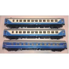 AC55150 zestaw 3  wagony sypialne WLABm RZD / BC Saratow Express  ep.V (H0)
