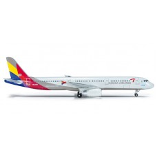 h523097 samolot  Asiana Airlines Airbus A321 (1:500)