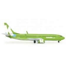 h523325  samolot Kulula (new 2012 colors) Boeing 737-800 (1:500)