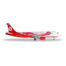 "H557269 samolot airberlin Airbus A320 ""Top Bonus"" (1:200)"