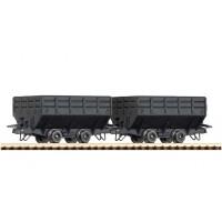 RC34606 zestaw 2szt. wagonow  do szutru, wegla  (H0e)