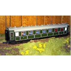 RC45580 wagon osobowy 1/2kl. K.Bay.Sts.B. ep.I (H0)