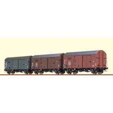 br45901 zestaw 3 wagonow Gms30 SNCF/OBB/SAAR ep.III (H0)