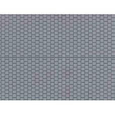 A52423 chodnik szary -plastik   100 x 200 mm (H0)