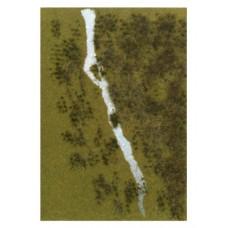 BU1313 arkusz łąka z rzeką 210 X 297 mm (H0)
