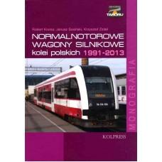 Normalnotorowe wagony Silnikowe 1991-2013 Tom 3