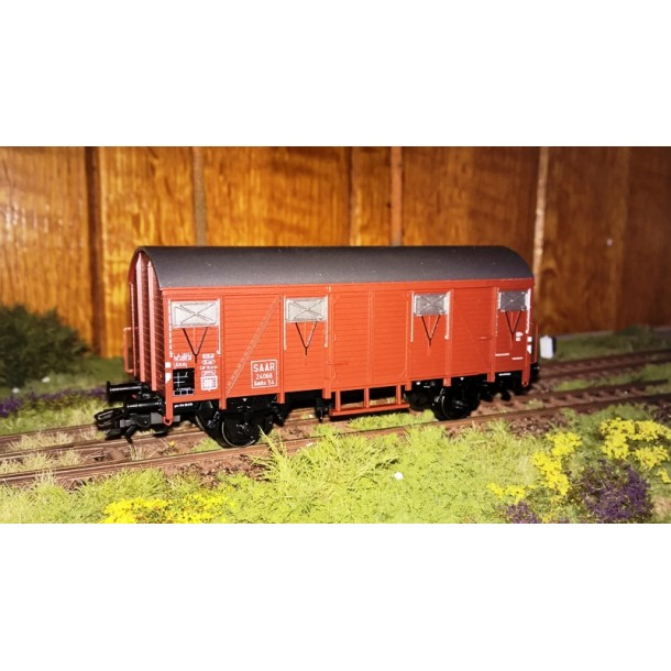 Marklin 46274 wagon zakryty  Gmhs54 SAAR 24066   ep.III (H0)