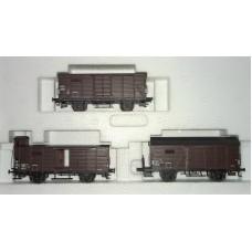 M48821 zestaw w szt. wagonow towarowych SNCF ep.III (H0)