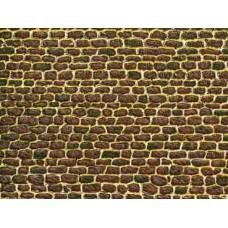 A50502 płytka kartonowa mur kamienny 100X 220 mm (H0,TT,N)