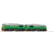 RC73795 lokomotywa spalinowa 2M62 RZD ep.V DCC Sound  (H0)