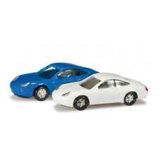 H065122-002 Set Porsche 911, niebieski,biały 2szt. (N)