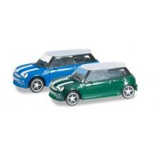 H065252-003 set 2szt. auta  Mini Cooper (N)