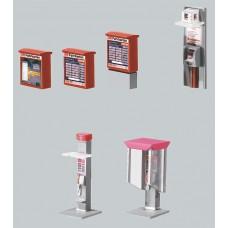 F180552 budki telefoniczne, automaty biletowe (H0)