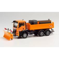 Herpa 312578  auto MAN TGS komunalny , pługo-polewaczka  (H0)