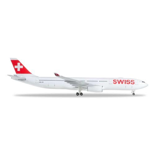 Herpa 523134-003  samolot Swiss International Air Lines Airbus A330-300 - HB-JHI (1:500)
